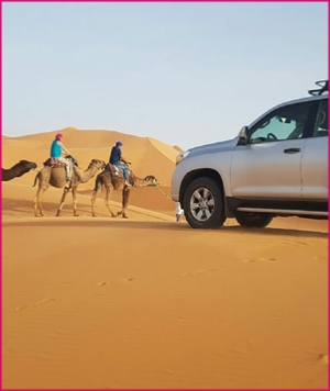 private 3 days tour from Casablanca to Merzouga desert
